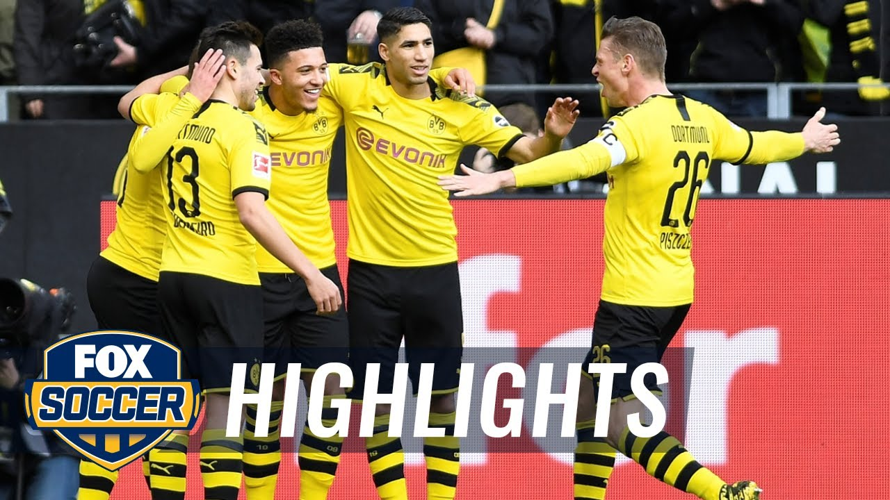 Borussia Dortmund vs. SC Freiburg | 2020 Bundesliga Highlights