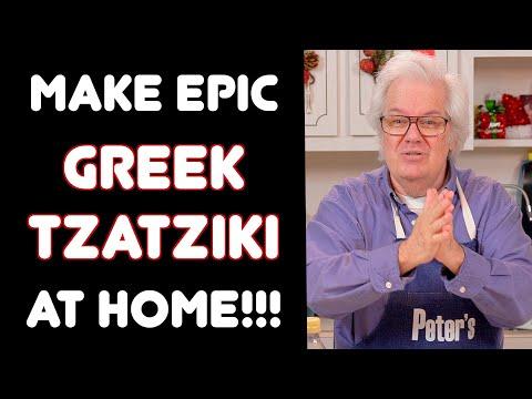 Homemade Greek Tzatziki  Recipe - Peters Kitchen