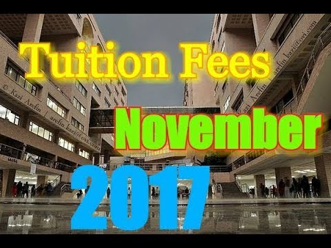 TUITION Fees for BBA in some REPUTED UNIVERSITY||November2017
