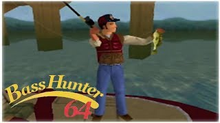 In-Fisherman Bass Hunter 64 Nintendo 64 Gameplay Walkthrough Part 14 - Tournament 10 Day 2!