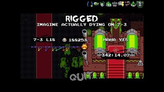 You almost reached the Nuclear Throne (Current WR)