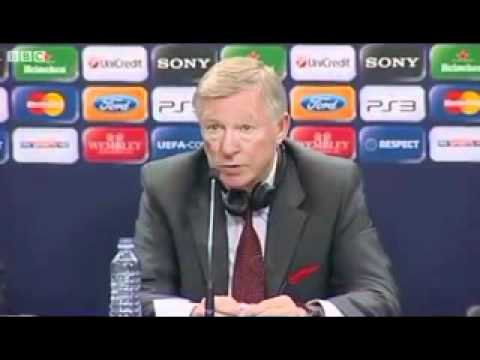 Sir Alex Ferguson Interview After Losing the Champions League Final 2011