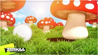 MUSHROOM LAND! (Golf It)