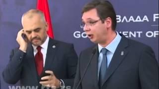 Albanski premijer isprovocirao Vucica