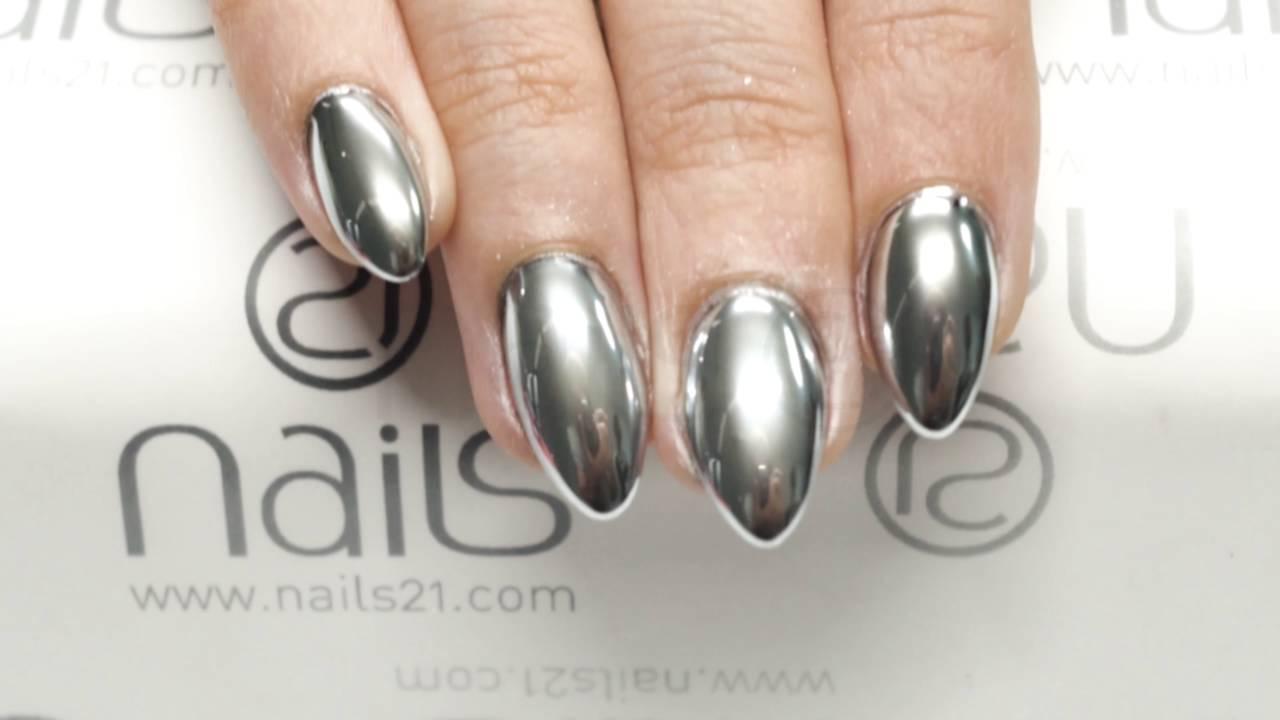 Exclusive Look Mirror Powder By Nails 21