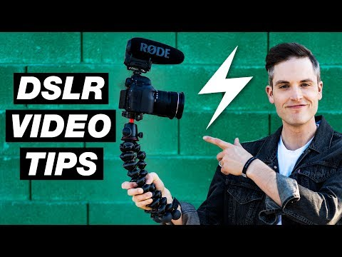 7 DSLR Vlogging Tips — Canon 6D Mark II Tutorial and Settings