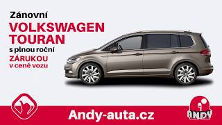 Zánovní Volkswagen Touran - Andy Auta