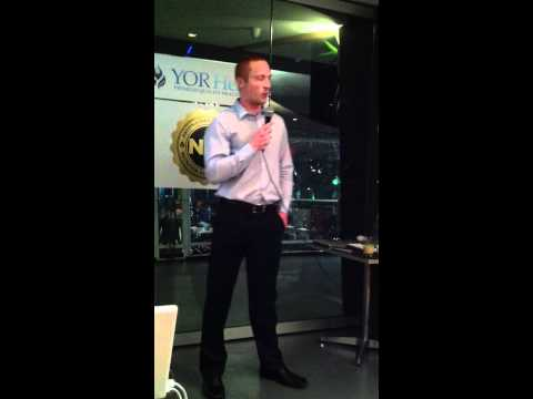 AFL Star Matthew Bate YOR Health Australia Launch