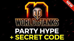 10th Anniversary Event Hype + Secret Code Revealed! | World of Tanks Birthday