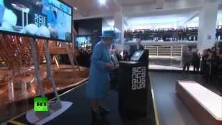 Королева Елизавета II опубликовала свою первую запись в Twitter