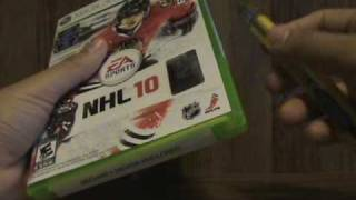 Unboxing: NHL 10