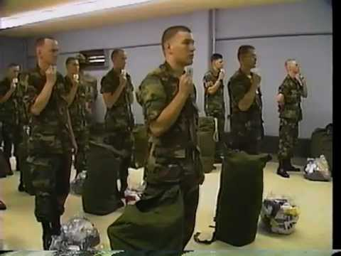 us army basic training in the 80s youtube