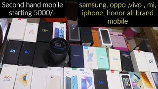 @5000/- second hand mobile oppo,vivo,mi,honor,iphone,samsung all brande availble sab sikhe jane poco