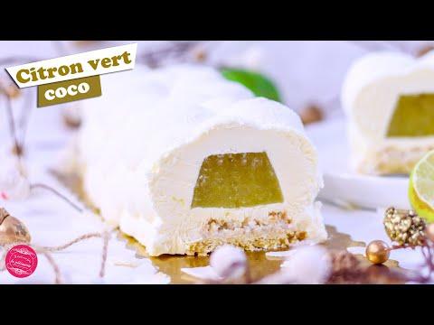 🍋-bÛche-de-noËl-citron-vert-noix-de-coco-🍋