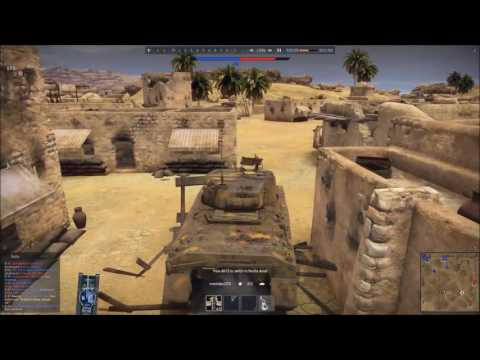 War Thunder M4  Second battle of El Alamein event