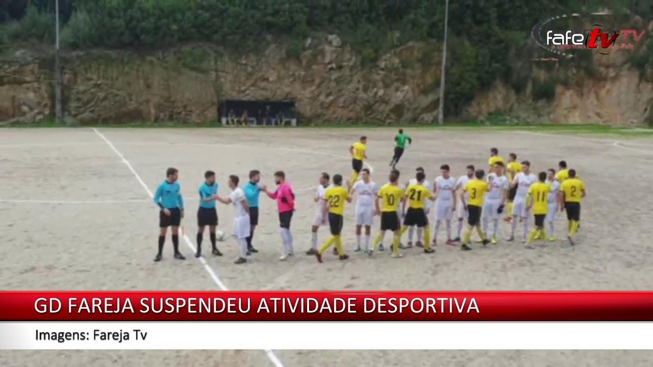 O Grupo Desportivo de Fareja decidiu suspender a sua atividade desportiva na temporada 2020/2021.