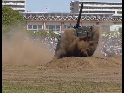 観客もどよめく!激走!10式戦車機動展示!! 陸上自衛隊練馬駐屯地記念行事2018