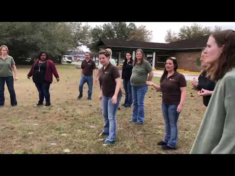 Tallahassee-Leon Federal Credit Union teambuilding first attempt