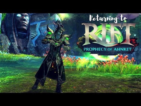 Returning to RIFT Prophecy of Ahnket | gameplay
