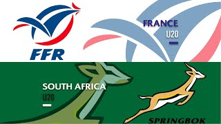 World Rugby U20s 2019 - France v South Africa - FULL MATCH