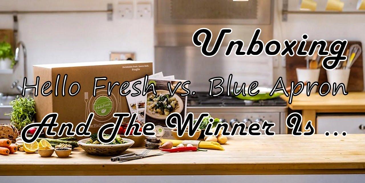 Blue apron vs hello fresh - Unboxing Hello Fresh Vs Blue Apron Bravo Charlie S Episode 59