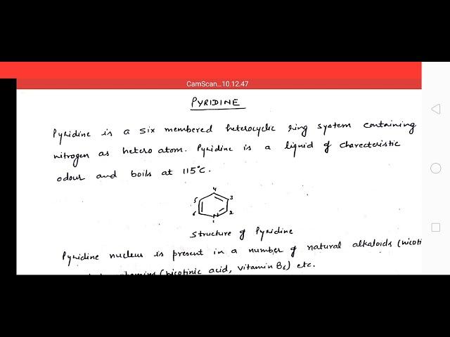 Heterocyclic chemistry part-5 by Amit Girdhar