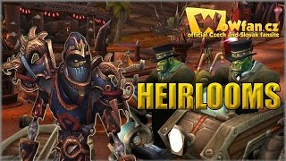 29. WoW 6.1.0 - Heirlooms CZ