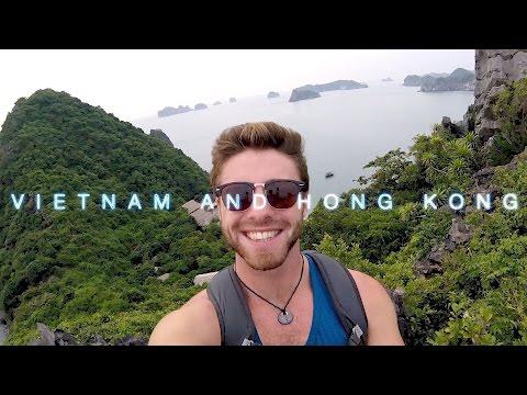 Backpacking Vietnam and Hong Kong || 2016 || GoPro Hero Session Video