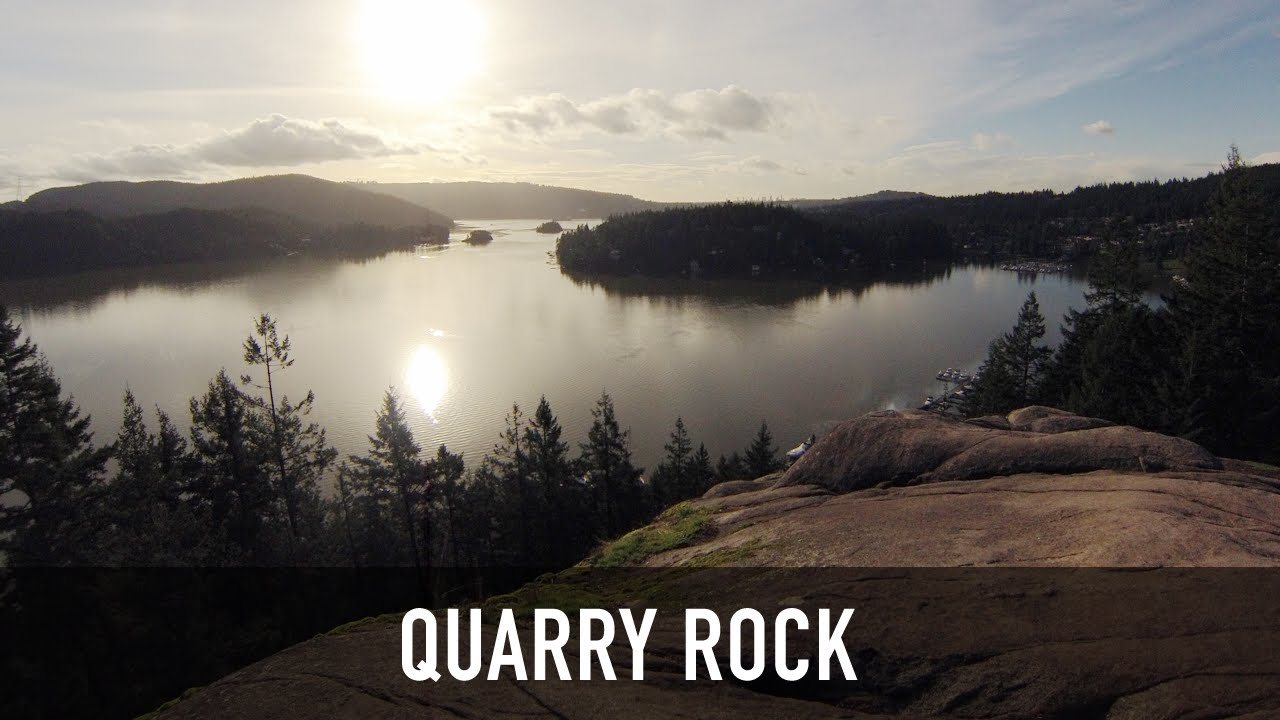 Quarry Rock Hiking Trail In Deep Cove