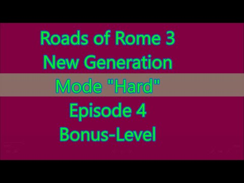 Roads of Rome: New Generation 3 Bonus-Level |
