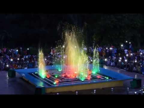 Vande Mataram | Musical fountain @ Brindavan Gardens, Mysore.