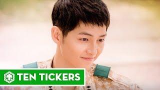 Top 10 vai diễn nổi bật nhất của Song Joong Ki   Ten Tickers Asia 2