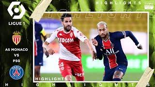 Monaco 3 - 2 PSG - HIGHLIGHTS & GOALS (11/20/2020)