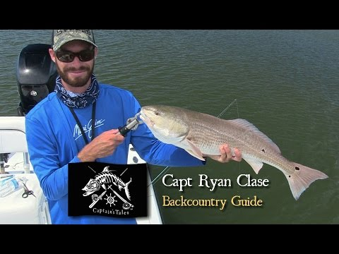 Captains Tales Episode 36 Capt Ryan Clase-AWESOME Redfish Bite