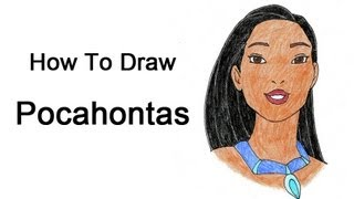 How to Draw Pocahontas