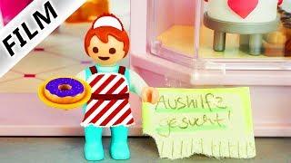 Playmobil Film deutsch EMMA ALS KELLNERIN in Mamas Café | Geht das gut?! Kinderserie Familie Vogel