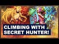 Climbing With Secret Hunter! | The Boomsday Project | Hearthstone