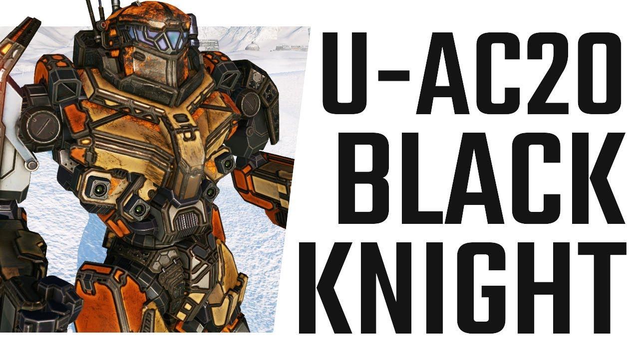 U-AC20 Black Knight Hero Mech