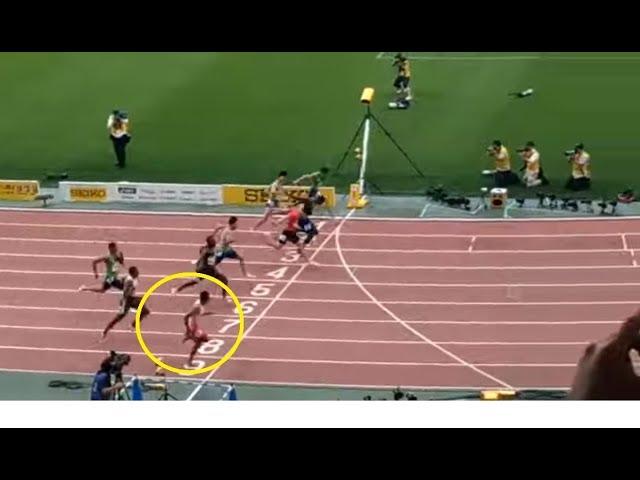 Detik-detik Zohri Lolos Olimpiade Tokyo 2020