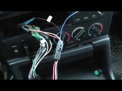 Как подключить автомагнитолу