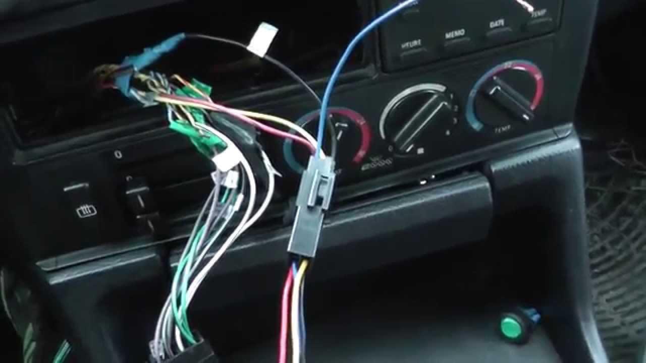 схема подключения navi plus audi a6 c5