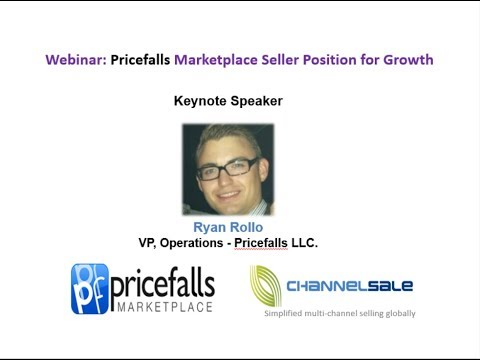 Webinar: Pricefalls Marketplace Seller Data Practices for Growth