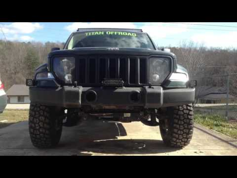 Lifted Jeep Liberty >> Jodys 2011 Jeep Liberty kk build - YouTube