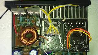 4.1 car Amplifier  TDA 7388 4 channel (2sa 5200 2sc 1943) subwoofer