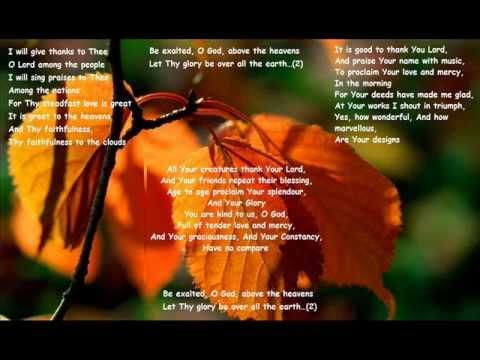 Be Exalted O God | Beautiful Gospel Worship Hymn | Hillsong