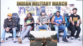 Indian Military March - Republic Day Parade | Reaction