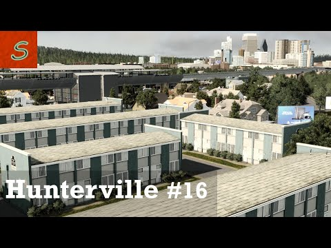 Public Housing - Cities Skylines - Hunterville - EP16 |
