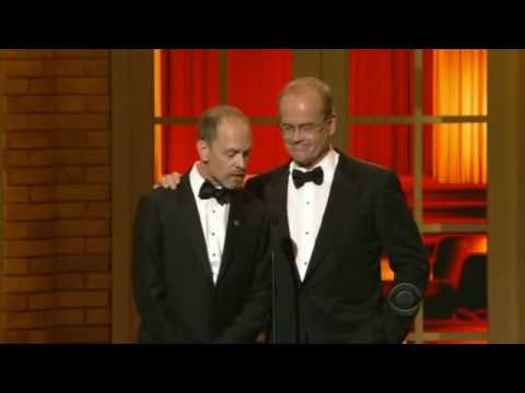 Kelsey Grammer and David Hyde Pierce 2010 Tony Awards