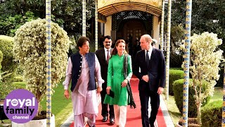 Duke and Duchess of Cambridge Meet Pakistan's Prime Minister Imran Khan