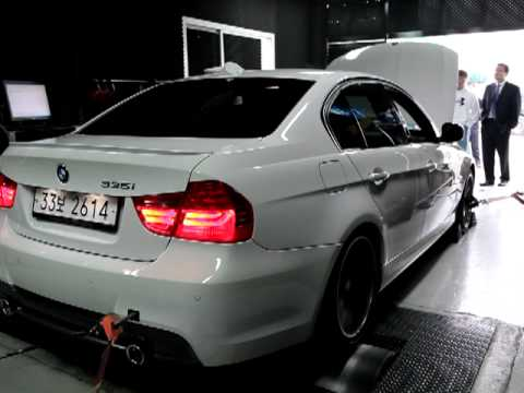 BMW 335i Twin Turbo On The Dyno   US Spec   YouTube